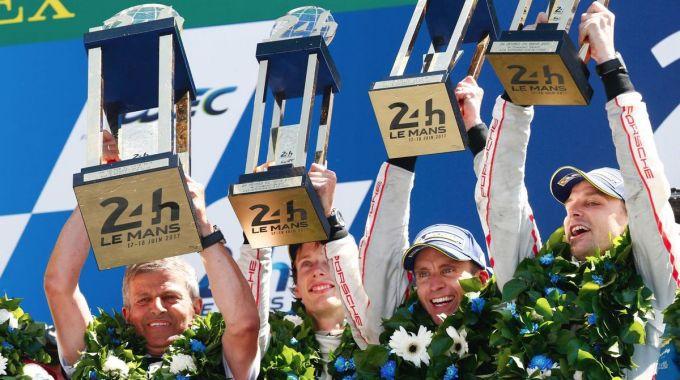 Porsche - Equipo ganador de las 24 Horas de Le Mans 2017