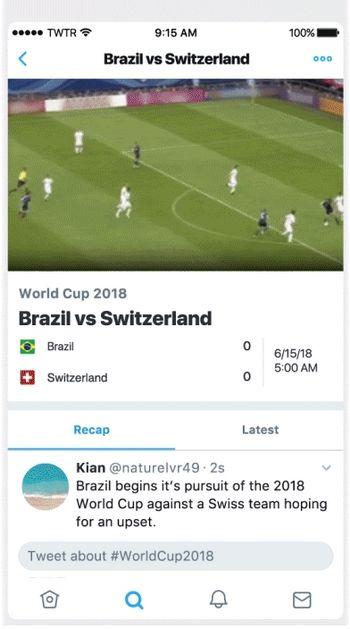 Twitter - Copa Mundial de Fútbol 2018