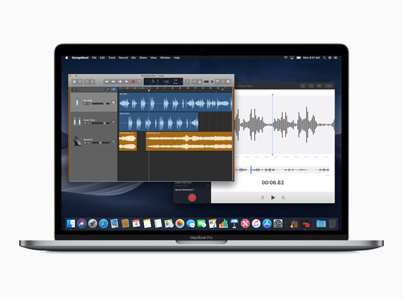 Apple macOS Mojave - Voice Memos