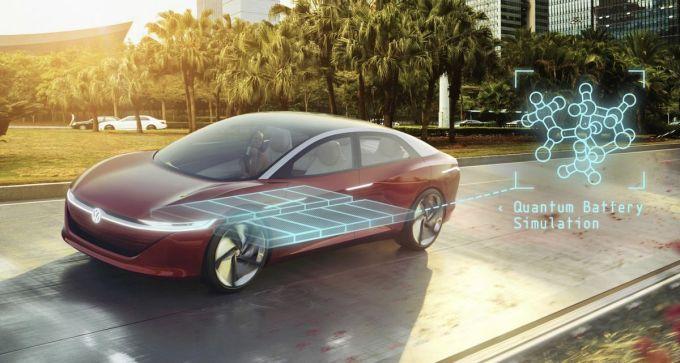 Volkswagen - Simulación Cuántica de la Batería