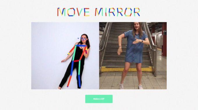 Google - Move Mirror