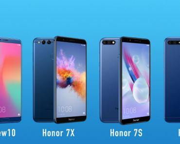 Smarphones Honor - América Latina