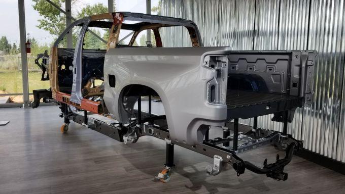 2019 Chevrolet Silverado Chasis y Carrocería