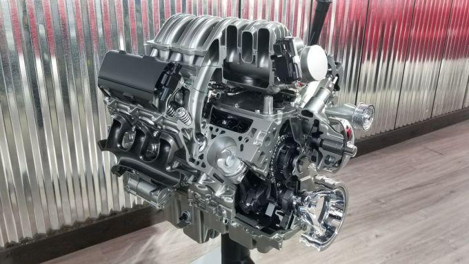 Motor de la 2019 Chevrolet Slverado