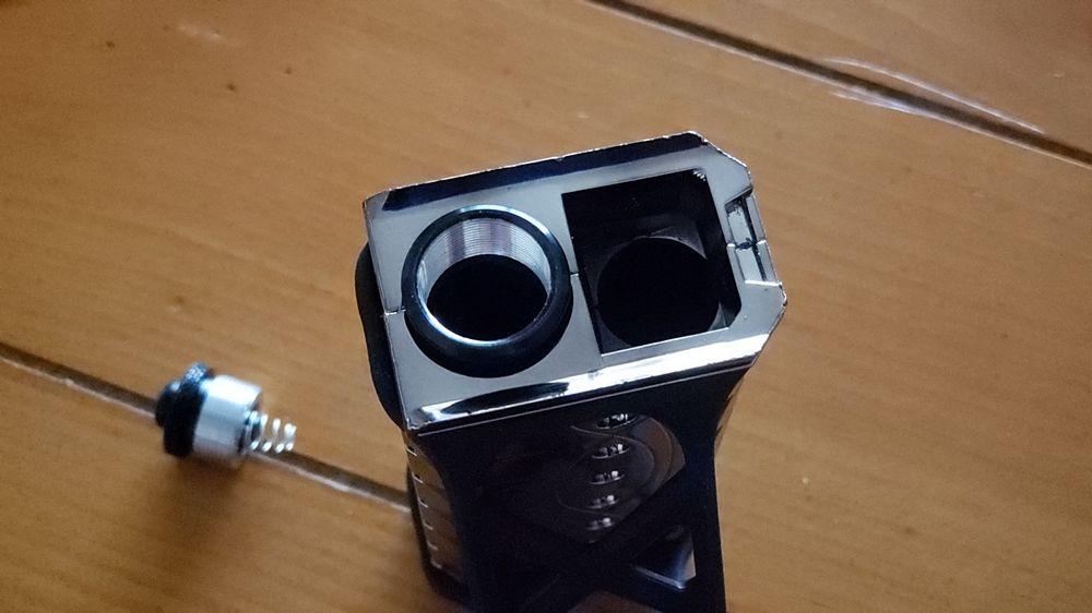 Por primera vez es recomendable utilizar el tubo de práctica y familiarizarse con el uso de D.A.D. 2.