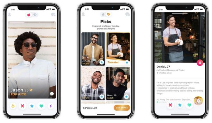Tinder Top Picks