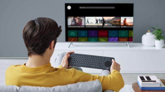 TecladoLogitech K600 Smart TV