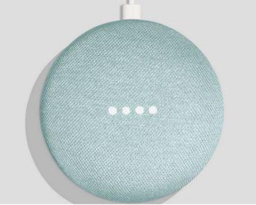 Google Home Mini Aqua - Aguamarina