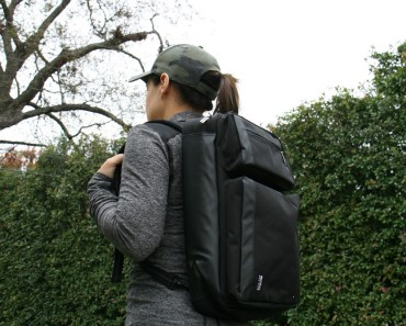 Duane Hybrid Backpack Briefcase
