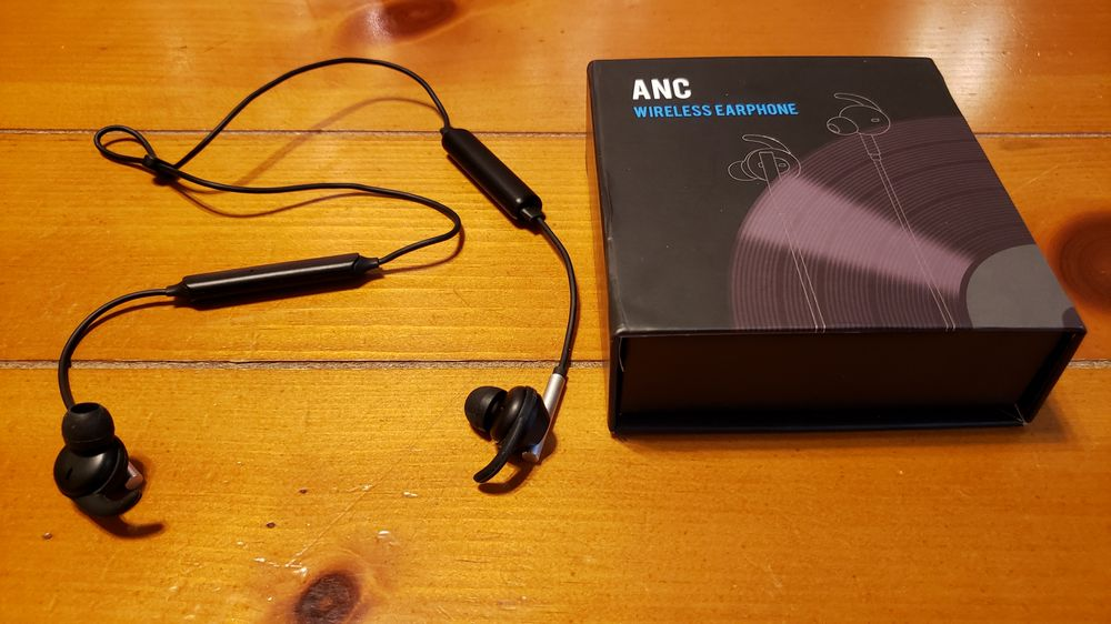 Virtual Acoustic ANC Wireless Earphone