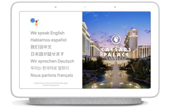 Asistente de Google - Modo Intérprete - Google Hone Hub