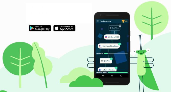Grasshopper - Android - iOS - Aprender a Codificar