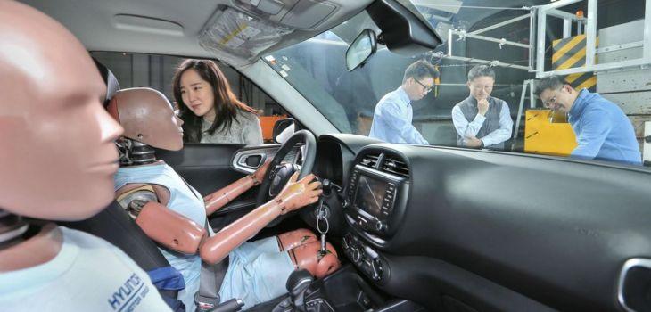 Hyundai Motor Group - Sistema de Bolsas de Aire para Colisión Múltiple