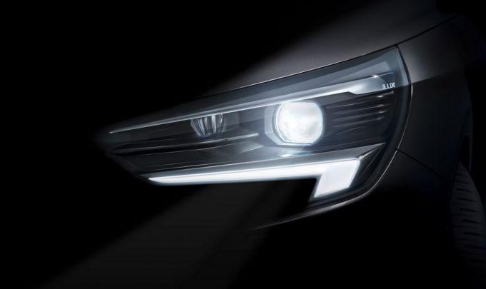 Opel Corsa - Sistema de Iluminación Matricial Intellilux LED
