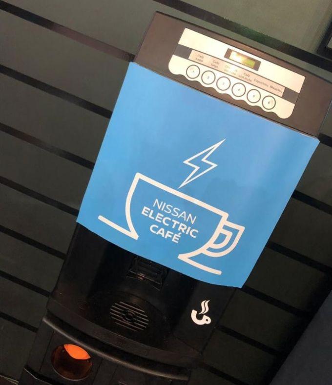 Nissan Electric Café - Expomóvil 2019 Costa Rica