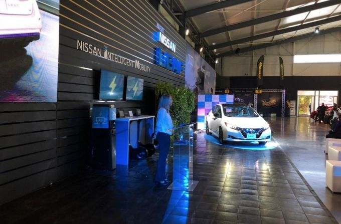 Nissan Electric Café - Expomóvil 2019 Costa Rica - LEAF