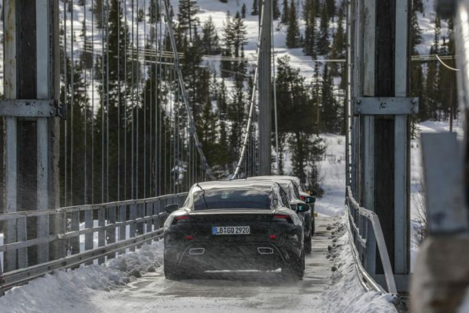 Porsche Taycan Eléctrico