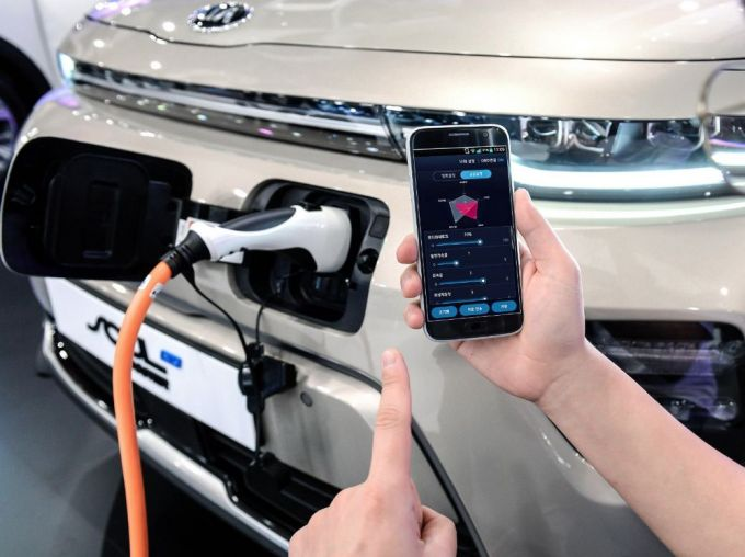 Hyundai Motor - Controlar Funciones de EVs vía Aplicación Móvil