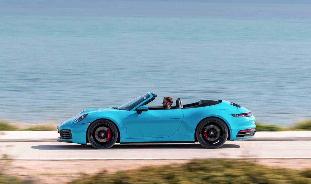 La carrocería del nuevo 2020 Porsche 911 es innovación pura con componentes de bajo peso