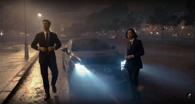 Lexus RC 2020 - Men in Black: International