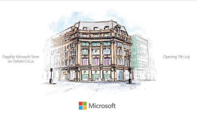 Microsoft Store - Oxford Circus - Londres