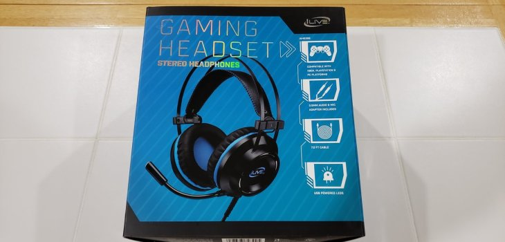 iLive Gaming Headset IAHG39B