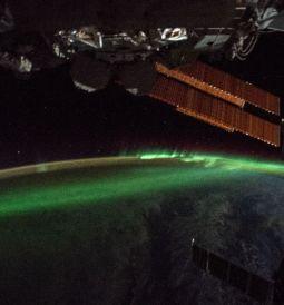 Estación Espacial Internacional - Aurora Austral