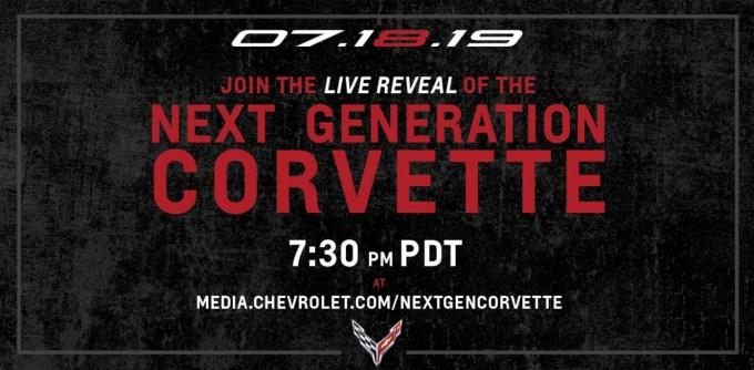 Chevy Corvette C8 2020