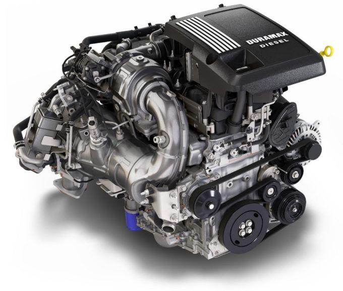 2020 Chevy Silverado 1500 - turbo-diésel Duramax 3.0L