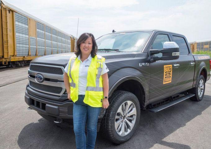 Ford F-150 - Ingeniera en Jefe Linda Zhang