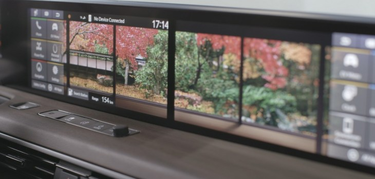 Honda E - Sistema de Info Entretenimiento