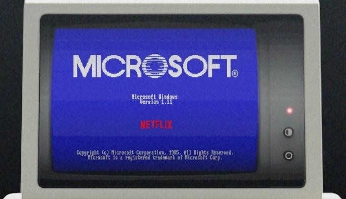 Microsoft Windows 1.11 - Stranger Things 3
