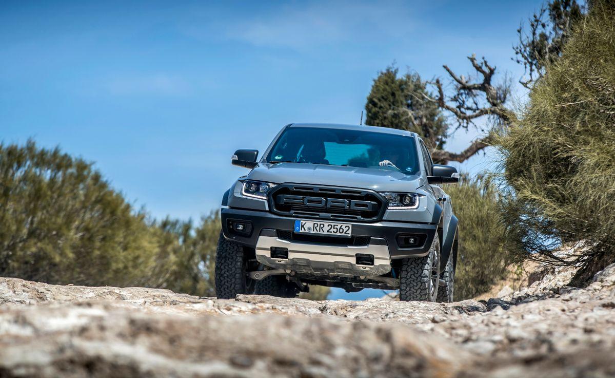 SATNAV Breadcrumbs ayuda a guiar a los conductores de la nueva Ford Ranger Raptor