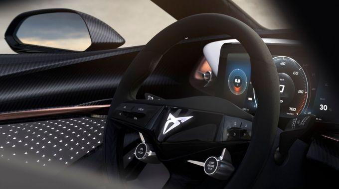 Cupra - Interior del Prototipo 100% eléctrico