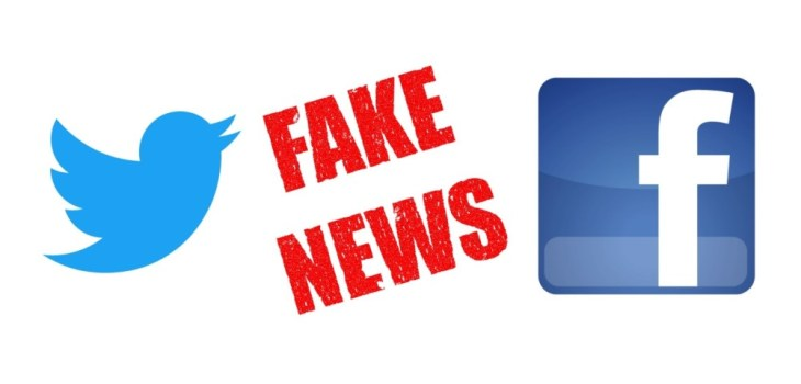 Twitter Facebook - Noticias Falsas