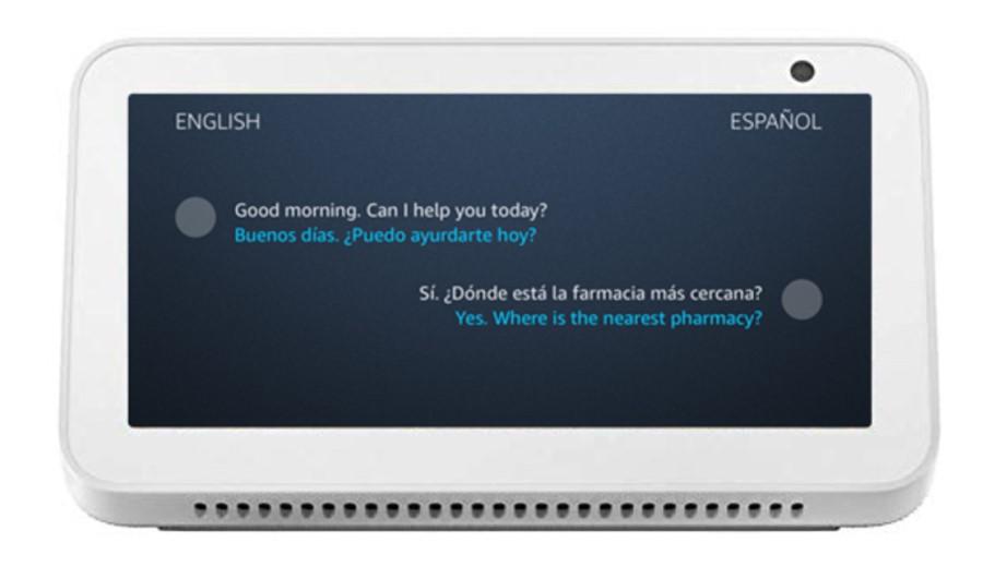 Amazon Alexa - Traductor