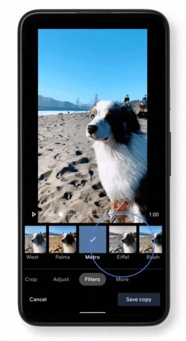 Google Fotos - Nuevo Editor de Vídeos - 2021