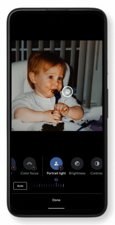 Google Fotos - Portrait Light