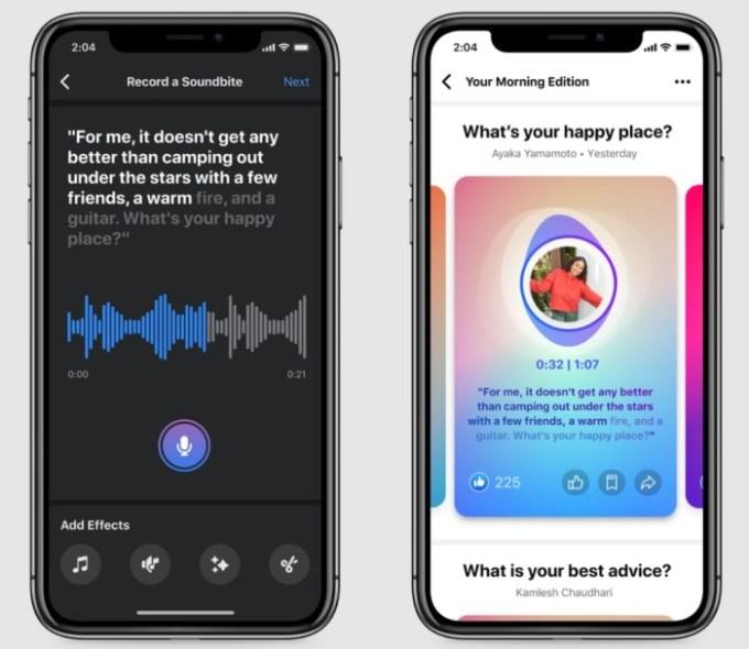Facebook - Nuevas herramientas de audio