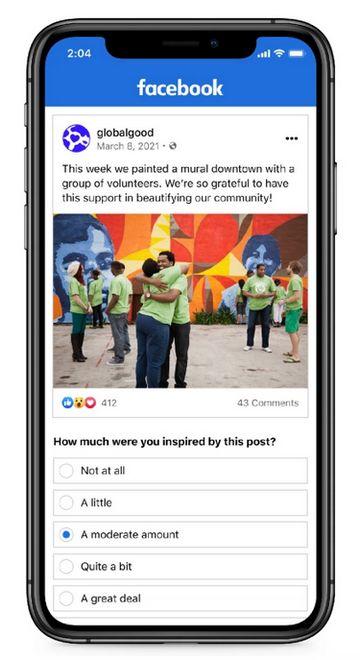 Facebook - Publicación que Inspira