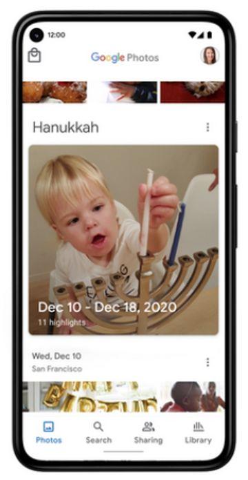 Google Fotos - Memorias - Celebraciones