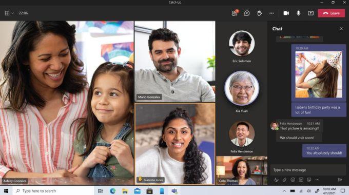 Microsoft Teams para el Hogar