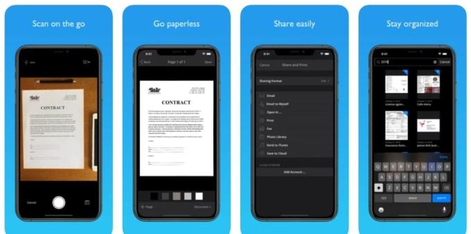 JotNot Scanner - iPhone