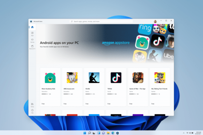 Windows 11 - Android Applications