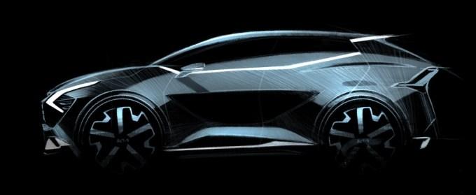 2022 Kia Sportage for Europe
