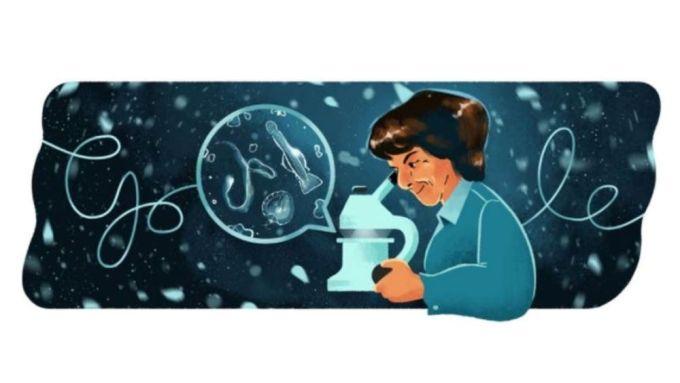 Google Doodle - María de los Ángeles Alvariño González