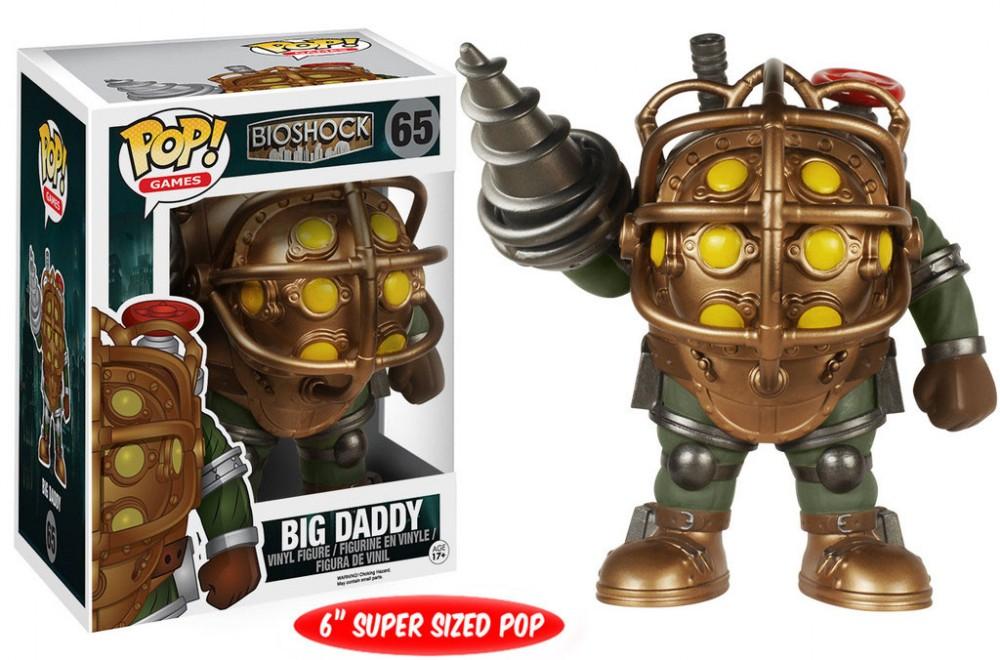 BioShock POP! Games Vinyl Figure Big Daddy 16 cm