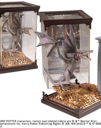 Harry Potter Magical Creatures Statue Ukrainian Ironbelly 19 cm