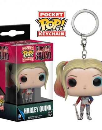 Suicide Squad Pocket POP! Vinyl Keychain Harley Quinn 4 cm