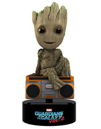 x_neca38715 Guardians of the Galaxy Vol. 2 Body Knocker Bobble-Figure Groot 15 cm